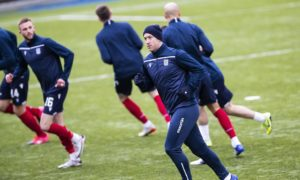 Charlie Adam's performance at Queen of the South a 'measure of the man' says Dundee boss James McPake