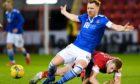 Liam Craig in action against Aberdeen.