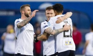 Queen of the South 1-3 Dundee: Sow hat-trick earns Dee Boxing Day victory in Dumfries