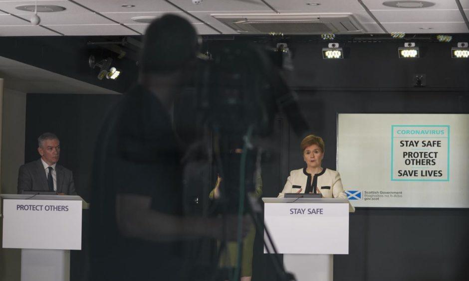 Sturgeon briefings