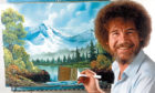The Joy of Painting with Bob Ross.