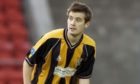 Tam Courts in his playing days at East Fife.