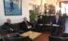 L-R Simon Fletcher, Bill Fletcher, Ian Moir, Alex Rowley.