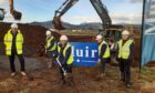 Councillor Rhona Brock visits the BM site in Crieff