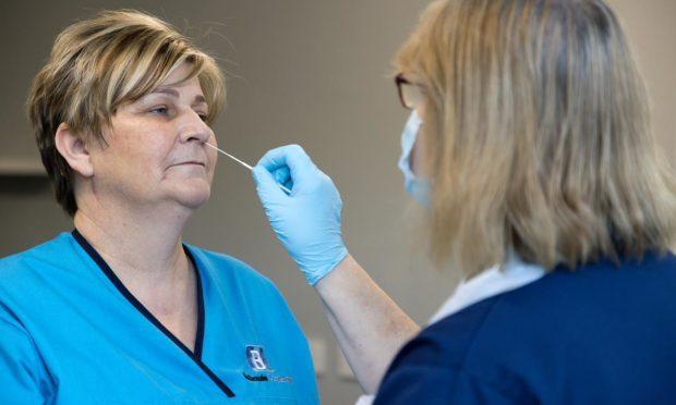 Balhousie nurses get tested for Covid-19