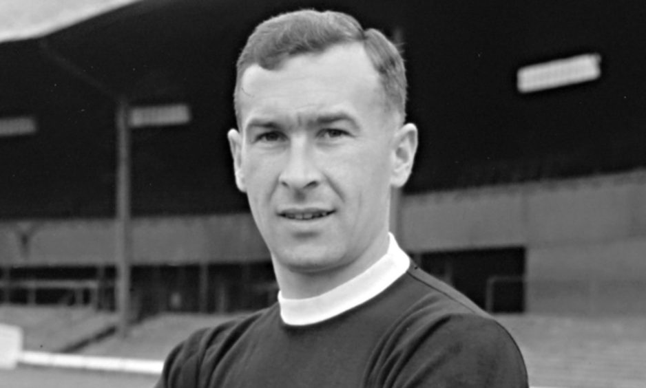 Dundee legend Bobby Wishart pictured in 1962.