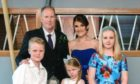 Brett and Stephanie McCullough, with children Annabel, Ben and Daisy.