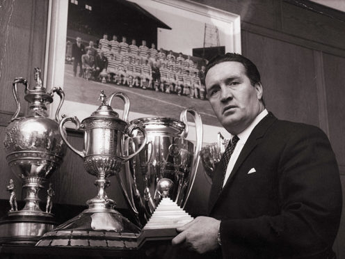 Jock Stein, Celtic Manager (1967).