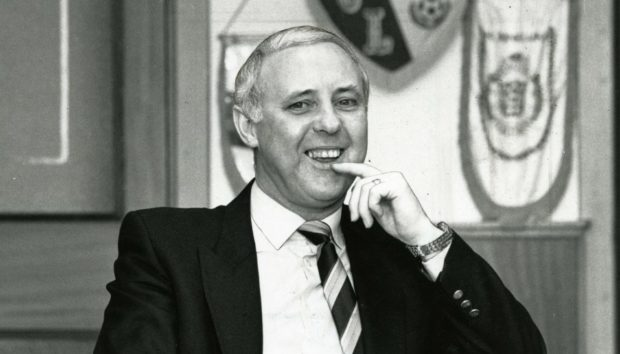 The legendary Jim McLean who died aged 83.