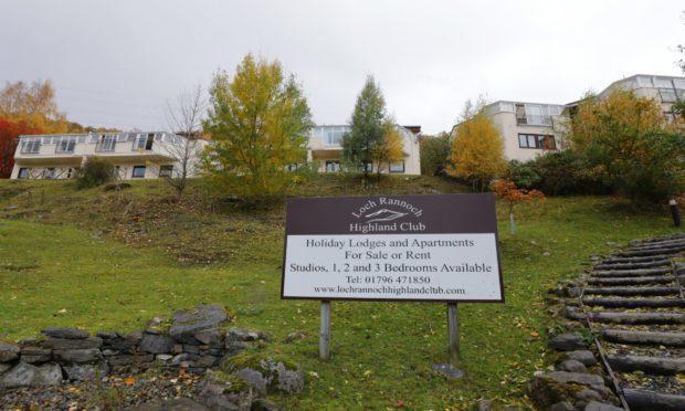 Loch Rannoch Highland Club.