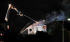Fire crews battled for over six hours to put the fire out at the house.
