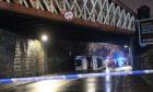 The crash at Dunkeld Road.