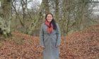 Abertay University student Emma Brough, who led the effort