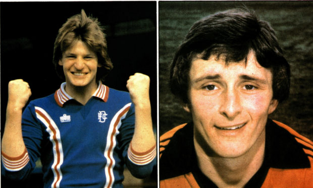 The League Cup Final between Dundee United and Dundee took place 40 years ago on December 6 1980.