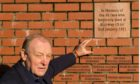 Fraser Bruce at Ibrox stadium in Glasgow