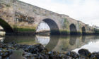 Gare Bridge at Guardbridge is 600 years old