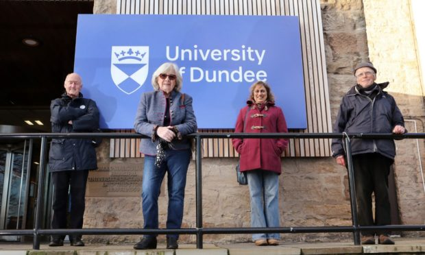 Richard Firth, Ann Auchterlonie, Jenny Kermally and Brian Ballinger of Lifelong Learning Dundee