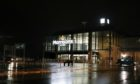 The Morrisons store in Dundee had to be closed because of flooding this afternoon