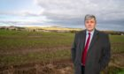 Local councillor Altany Craik pictured at Milldeans Farm development site - new housing proposed four years after locals managed to stop it from happening. CR0025563 Pic Kenny Smith, Kenny Smith Photography.