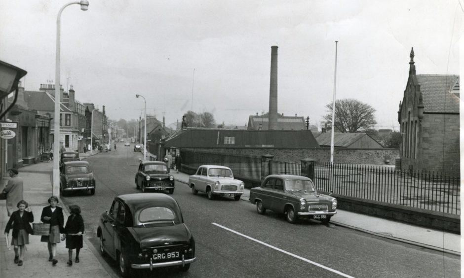 Monifieth in April 1961.