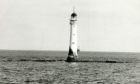 The tragedy unfolded at the lighthouse which is 11 miles off the coast of Arbroath.