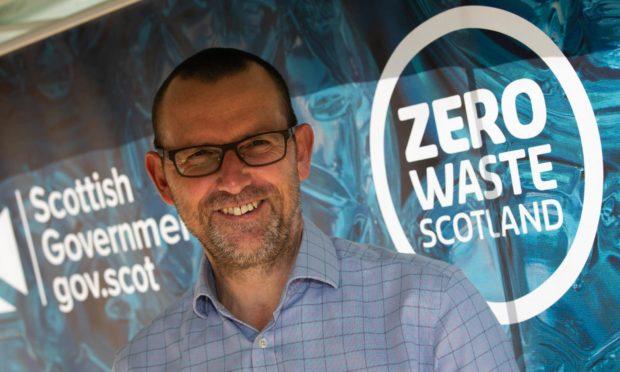 Iain Gulland of Zero Waste Scotland.