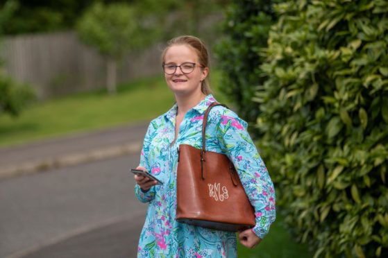Hope Murray, from Dunfermline, is helping to front up a disability awareness campaign.