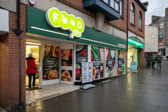 Food Plus on Lochee High Street.