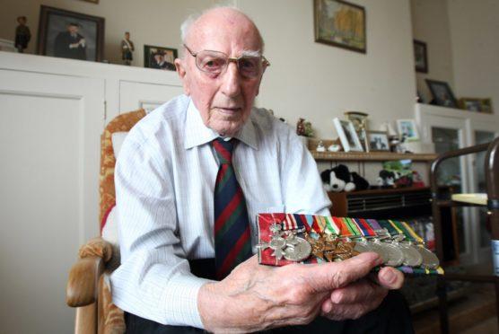 Major George Grant MBE MM.