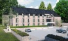 An artist's impression of the care home in Liff.