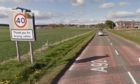Bushnell crashed off the A92 near the village of Marywell.