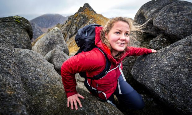 Mollie Hughes was recently appointed president of Scouts Scotland