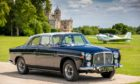 The Rover P5B which is still known as the Dundee Car.
