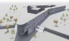 Architects' impression of how new £50m Perth High School could look
