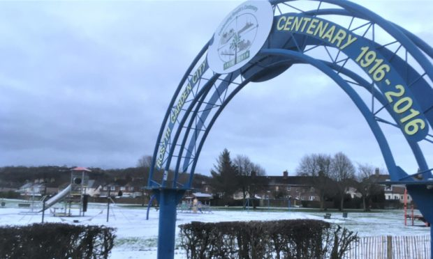Rosyth Public Park were a young boy was allegedly shot in the face by a teenager with a BB gun.