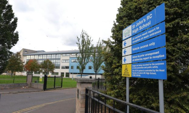 St John's High School in Dundee