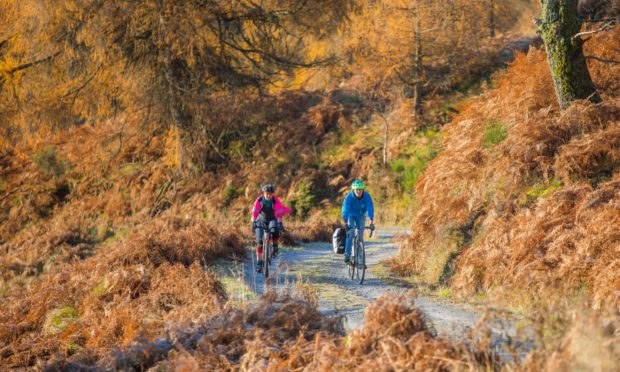 Highland Perthshire Cycling and Bikepacking Scotland launched Perthshire Gravel last November and have completed the first phase of mapping.