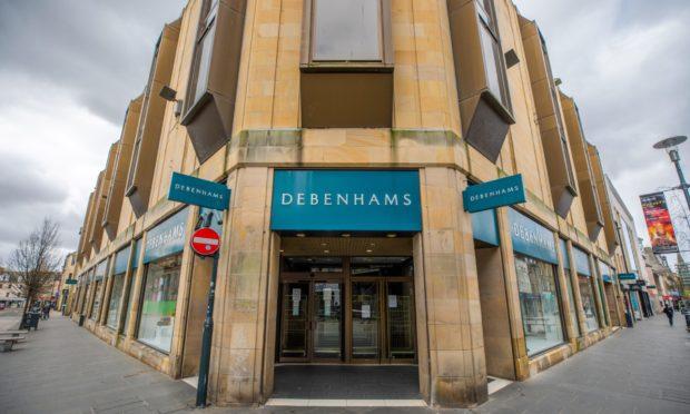 Debenhams in Perth.