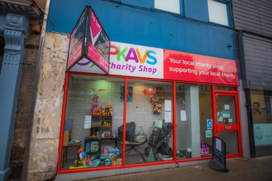 PKAVS charity shop, South Street.
