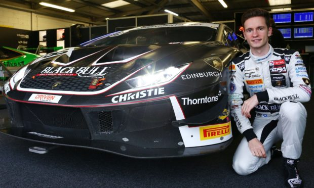 Sandy Mitchell has become a Lamborghini professional driver for 2021.