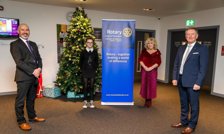 The Leading Learners project is funded by the Rotary Club of Dundee.