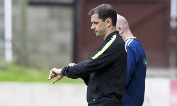 The time was up for Jackie McNamara after losing to St Johnstone.