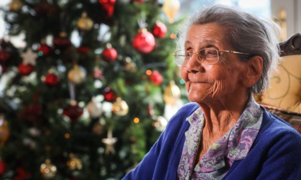 Daphne Shah celebrated an extraordinary Christmas this year.