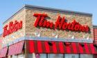 A Tim Horton's branch in Canada