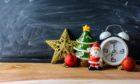 School Christmas holiday