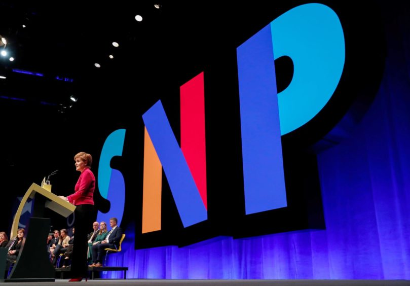The SNP annual conference in Aberdeen in 2019.