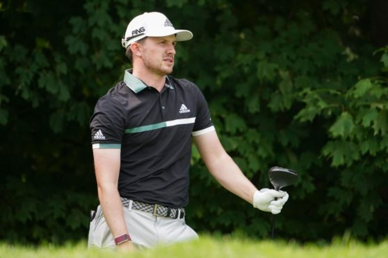 Connor Syme had an outside chance at Gran Canaria until the 14th hole.