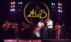 The Average White Band on stage in 1976.