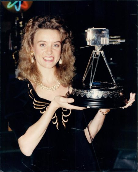 Liz McColgan with her 1991 trophy but was she the greatest?