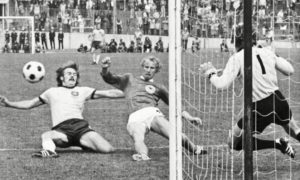 Jack Reilly played in the 1974 World Cup game for Australia against West Germany.